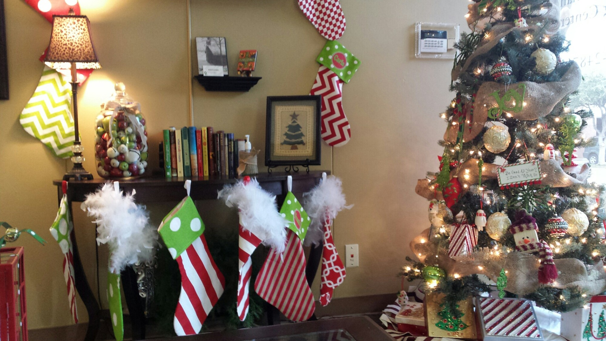 Christmas Lobby 2014